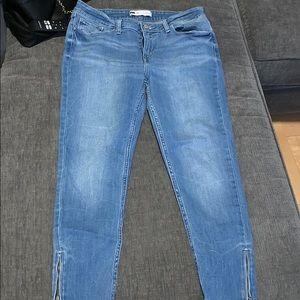 Levi's Ankle ZIP Jeans